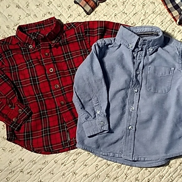 The Children's Place Other - The children's place, two little button down shirt